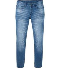 jeans elasticizzati slim fit tapered (blu) - rainbow