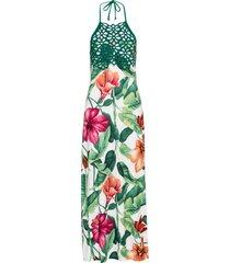 abito a fiori (bianco) - bodyflirt boutique