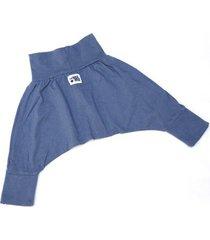 spodnie mini mini - brudny niebieski