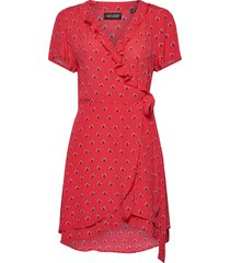 summer wrap dress dresses everyday dresses röd superdry