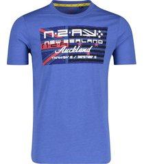 nza t-shirt westport blauw
