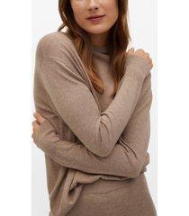 mango women's fine-knit sweater