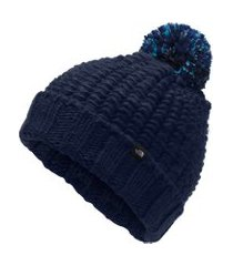 gorro the north face cozy chunky azul