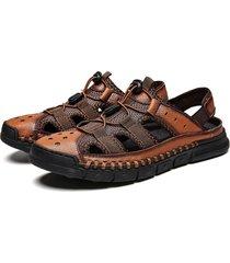 primavera moda tendencias zapatos casuales sandalias para hombres zapatos salvajes para hombres caqui