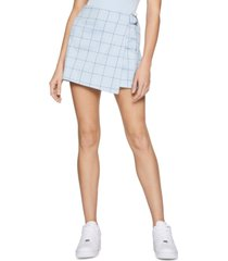 bcbgeneration plaid mini skort