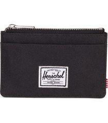 herschel supply co. oscar card case in black at nordstrom