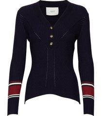 vindis knit blouse gebreide trui blauw just female