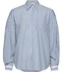 serene shirt overhemd met lange mouwen blauw hope