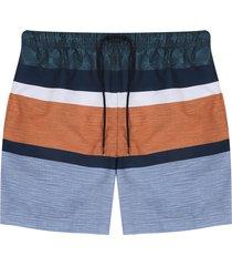 pantaloneta azul-naranja-verde colore