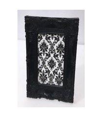 porta retrato color preto