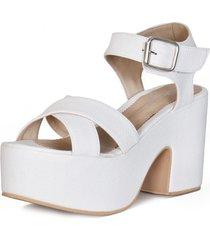 sandalia 2200 blanco euro confort