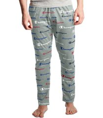 champion men's logo-print pajama pants