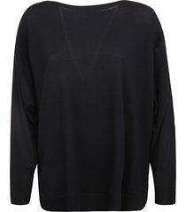 prada side slit oversized sweater