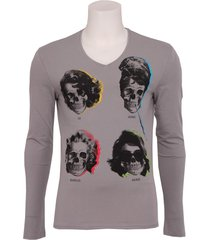 9008 movie star - antony morato - t-shirts - grijs