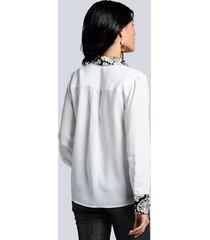 blus alba moda offwhite