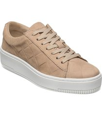 woms lace-up sneakers skor brun tamaris