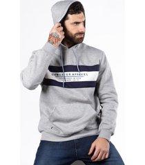 hoodie  canguro lab gris gangster