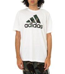 adidas t-shirt uomo essentials camouflage print gk9635