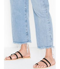 nly shoes strap toe sandal sandaler