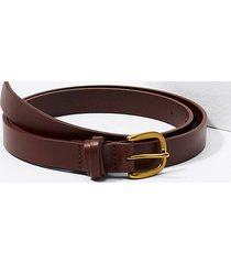 loft criss cross keeper leather belt