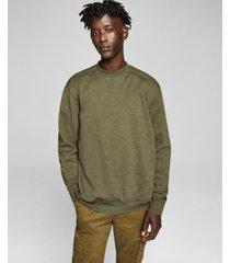 and now this men's fleece crewneck sweatshirt