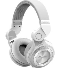 audifonos diadema inalambrico bluedio t2s hurricane blanco