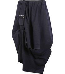 tasmania mixed wool skirt skirt