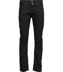 daren clean black jeans svart lee jeans