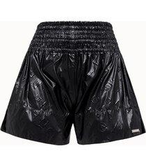 aries shorts monogram in nylon nero