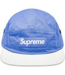 supreme 2-tone camp cap - blue
