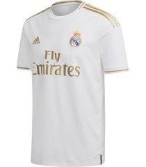 camiseta blanca adidas real madrid hombre blanco