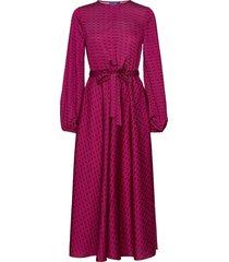 laicras dress maxiklänning festklänning lila cras
