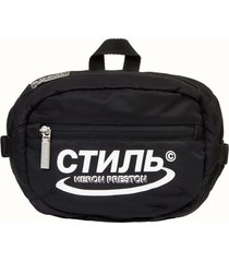 heron preston ctnmb nylon waist bag