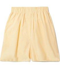 lui organic cotton-poplin shorts