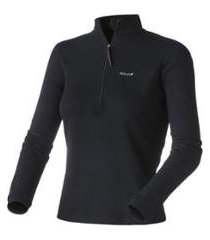 blusa solo x-thermo ds zip lady