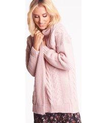 różowy sweter emma