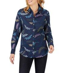women's foxcroft rhea embroidered shirt