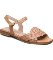 a-1402 shoes summer shoes flat sandals beige wonders