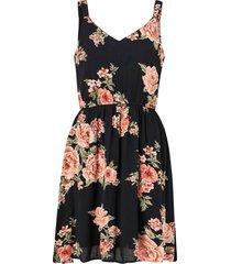 klänning onlkarmen s/l short dress aop wvn