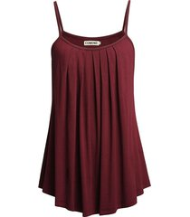 wine red women fashion sexy off shoulder cotton loose shirts backless camisole