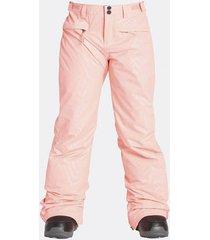 pantalon de nieve alue girls ins rosa billabong