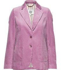 jacket blazer rosa noa noa