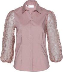 camicetta con maniche trasparenti (rosa) - bpc selection premium