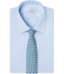 cravatta su misura, lanieri, londra bianca, quattro stagioni | lanieri