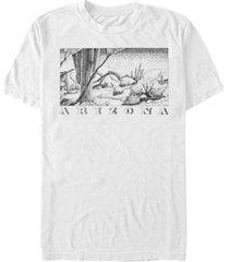 fifth sun men's arizona short sleeve crew t-shirt