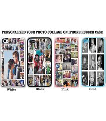 personalized photo collage case cover for iphone 7 6 6s plus se 5s custom image