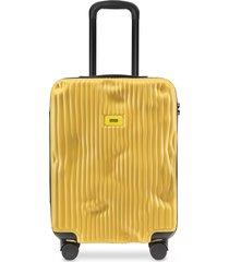 crash baggage designer travel bags, stripes carry-on trolley