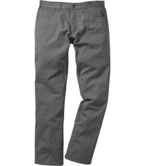 pantaloni 5 tasche regular fit straight (grigio) - bpc bonprix collection
