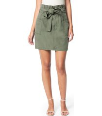 women's joe's paperbag utility skirt