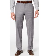 dockers men's stretch straight-fit performance flat front dress pants